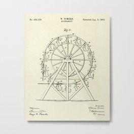 Roundabout-1893 Metal Print