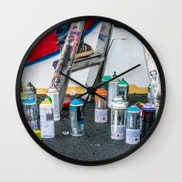 Artist's Playground Wall Clock