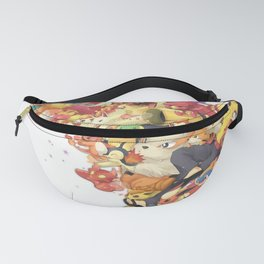 Monster Characters v2 Fanny Pack