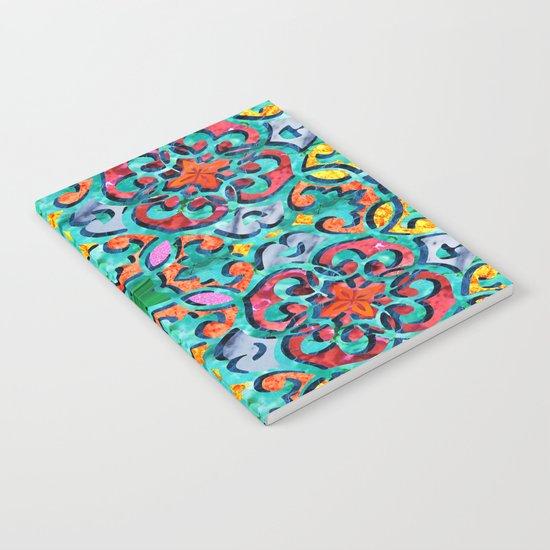 Moroccan Mandala 01 Notebook