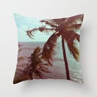 sunshine Throw Pillows featuring sunshine by Farkas B. Szabina