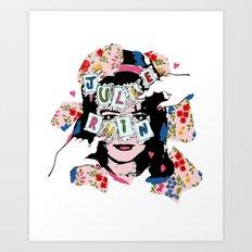 JuLiE RuiN!!! Art Print