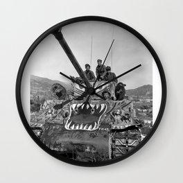M1 Tank in Korea Wall Clock