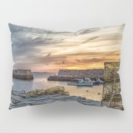 Lobster Trap sunset at lanes cove Pillow Sham