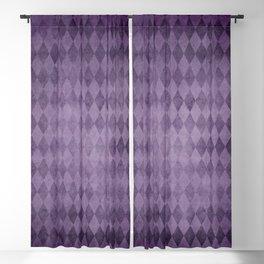 Lavender diamonds Blackout Curtain