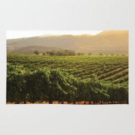 Wine Country Morning Rug