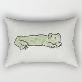 long phrog Rectangular Pillow