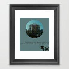 Broadcasting from... Framed Art Print