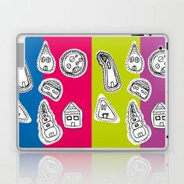 House Pattern Laptop & iPad Skin
