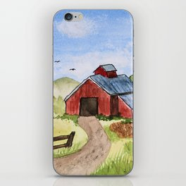 The Red Shed iPhone Skin