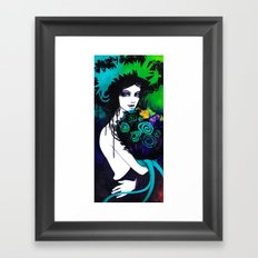 Flora the Goddess of Flowers Framed Art Print