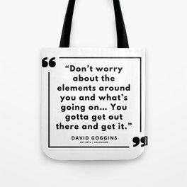 48     | David Goggins Quotes | 190901 Tote Bag