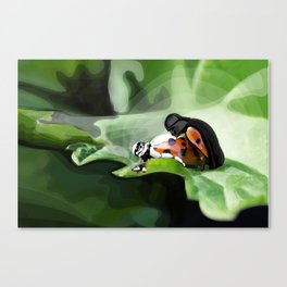 The strength of nature Canvas Print
