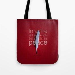Imagine Peace... Tote Bag