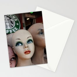 Mannequins & Starbucks Stationery Cards