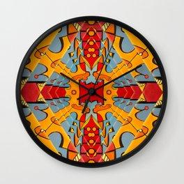 Amnesian Fields Wall Clock