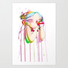 Byte Art Print