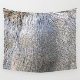 Rabbit Fur Wall Tapestry