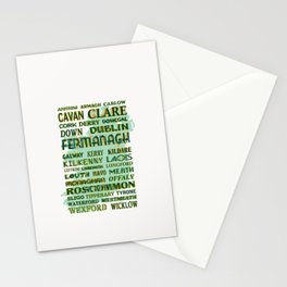 32 Counties Of Ireland Stationery Cards