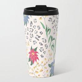 Tropical Opulence Pattern Travel Mug