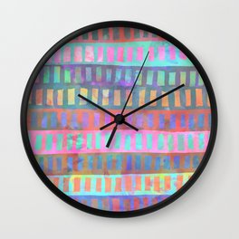 PATTERN {Geometric 002} Wall Clock