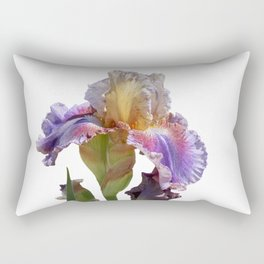 iris gladiolus in the garden Rectangular Pillow