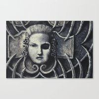 gothic Canvas Prints featuring Gothic by Chris Kitzmiller