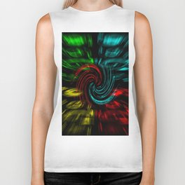 Abstract perfection 47 Biker Tank