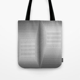 Binary Rooms Tote Bag