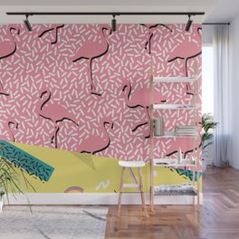Dreaming 80s Wall Mural