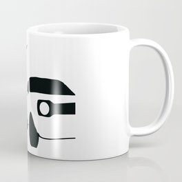 Car Jump Silhouette (Jumping Onto Moving Car) Coffee Mug
