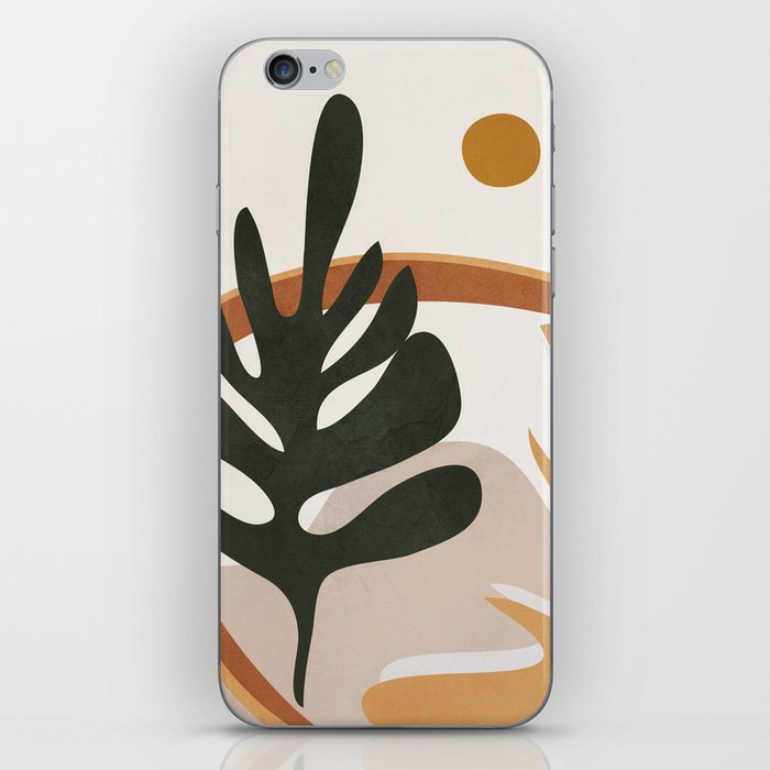 Abstract Plant Life I iPhone Skin