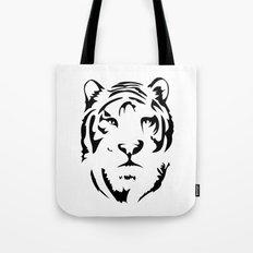 Minimalistic Tiger Face Tote Bag