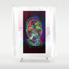 Chance the Rapper Shower Curtain