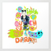 2ne1 Art Prints featuring 2NE1 Happy: Sandara Park by Haneul Home