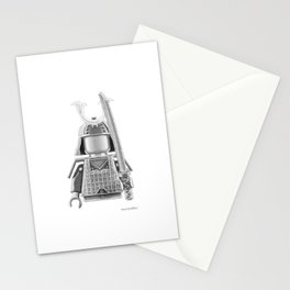 Japanese Warrior Stationery Cards