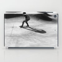 skateboard iPad Cases featuring #Skateboard by Yancey Wells