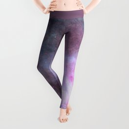 The Purple Density Of The Universe Leggings