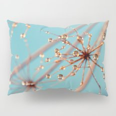Queen Anne's Lace in Blue Pillow Sham