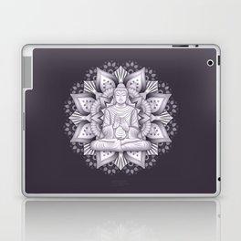 Black Mandala Laptop & iPad Skin