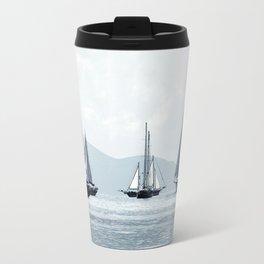 sailboats Travel Mug