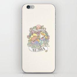 Rodent Mermaid Duo iPhone Skin