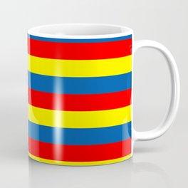 andorra Ecuador romania moldova chad colombia orkney flag stripes Coffee Mug