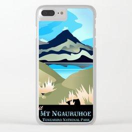 Tama Lakes Magic Clear iPhone Case