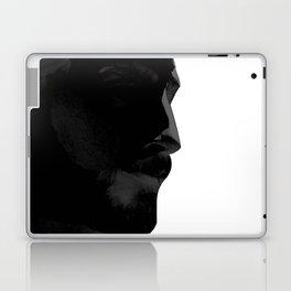L'homme - nero Laptop & iPad Skin