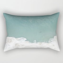 Shark From Above Rectangular Pillow