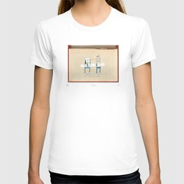 Staring contest T-shirt