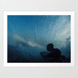 Blue Rider Art Print