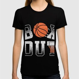 Basketball Coach Shirt Box Out rebound defense T-shirt