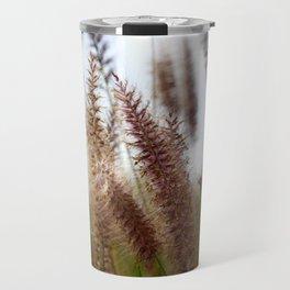 Summer Fountain Grass Travel Mug
